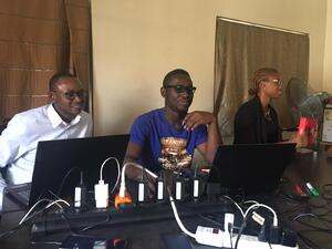 Momentum in Nigeria at AboCoders team retreat